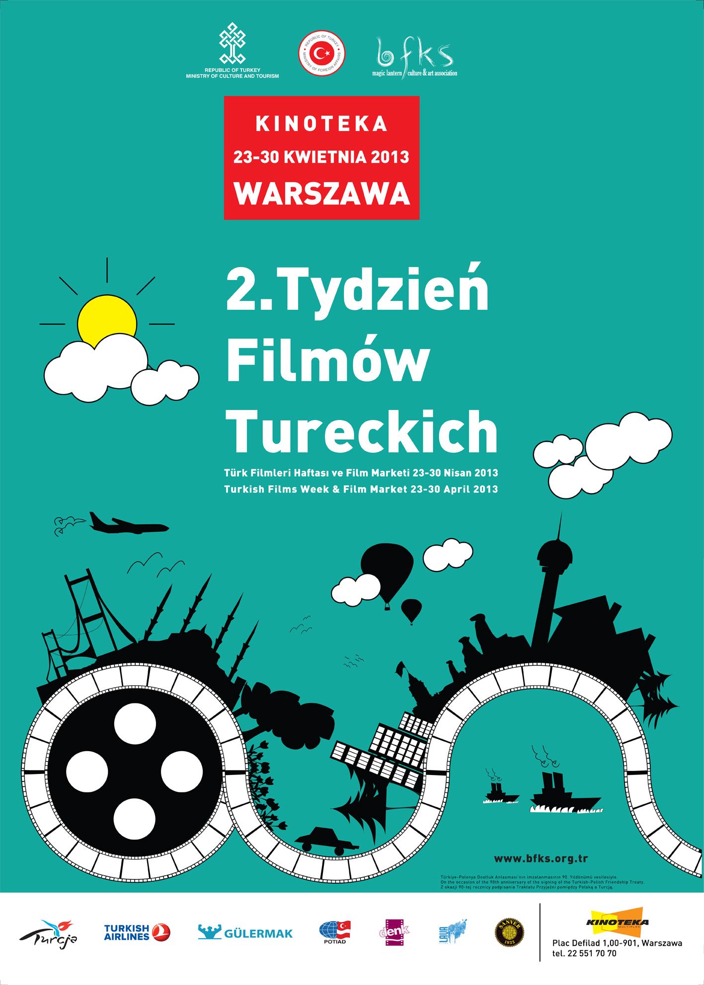 2. Varşova Türk Filmleri Haftası Başladı!